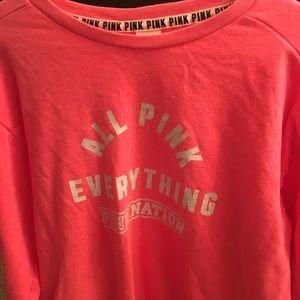 PINK VS size medium shirt